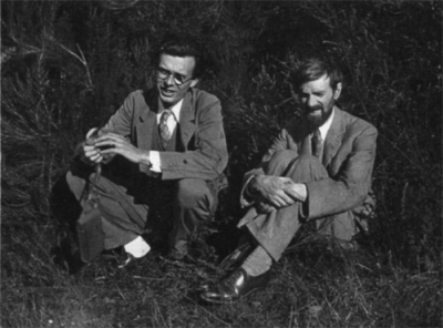 A. Huxley y D.H. Lawrence