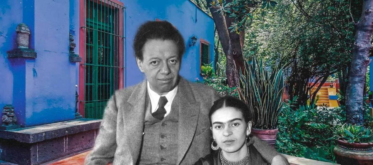Casa azul-pintores mexicanos-frida kahlo y diego rivera