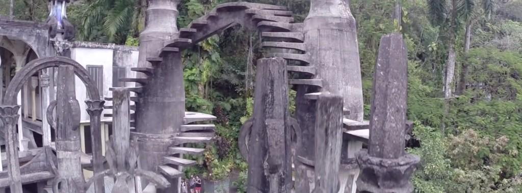 El mágico jardín de las Pozas de Xilitla como nunca lo habías visto (VIDEO)