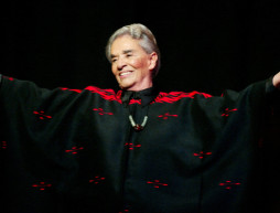 Foto de Chavela Vargas durante concierto en Guadalajara