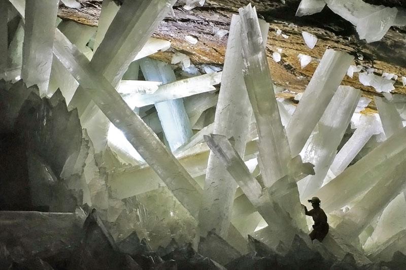 Imágenes de la cueva de cristales naica en chihuahua mexico