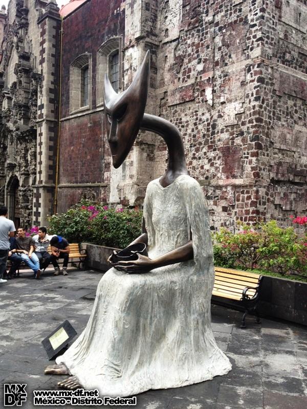 leonora carrington méxico esculturas ciudad