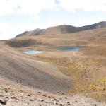Sus dos lagunas están entre las más altas del mundo.