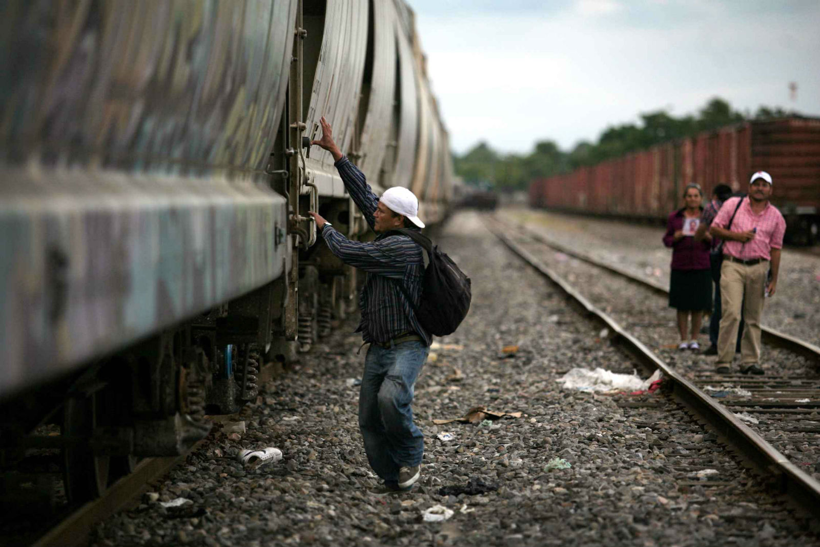migrantes la bestia tren