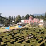 Laberinto de la Hacienda Panoaya, en Estado de México