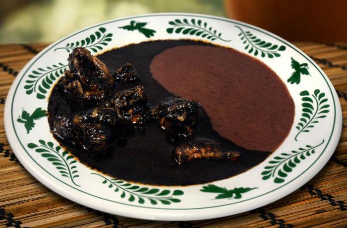 chimole receta gastronomía mexicana