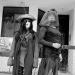 Personaje de las Viudas en el Día de Todos los Santos en Tantoyuca.