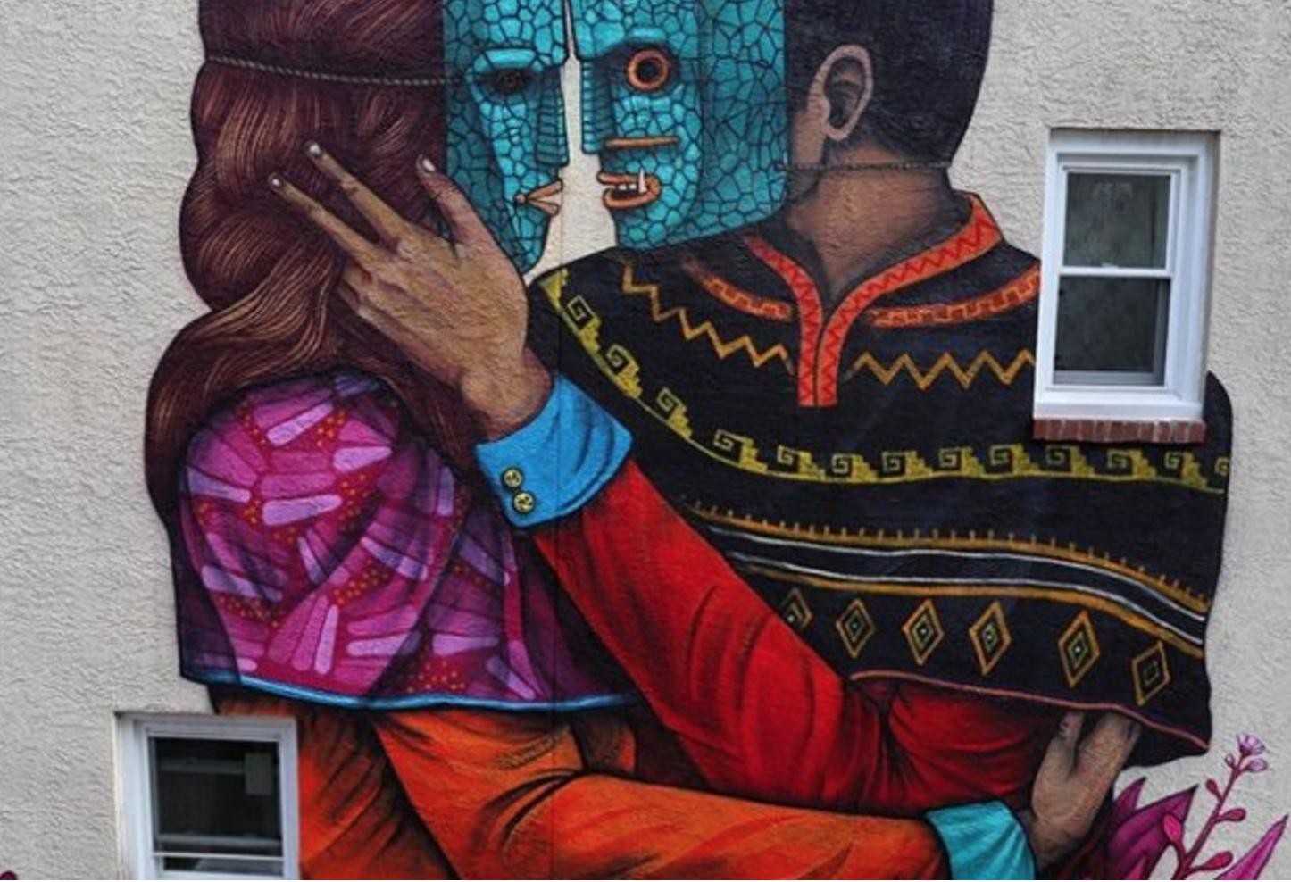 sanner mural filadelfia Philos and Adelphos