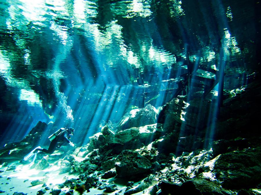 cenotes méxico fotografías