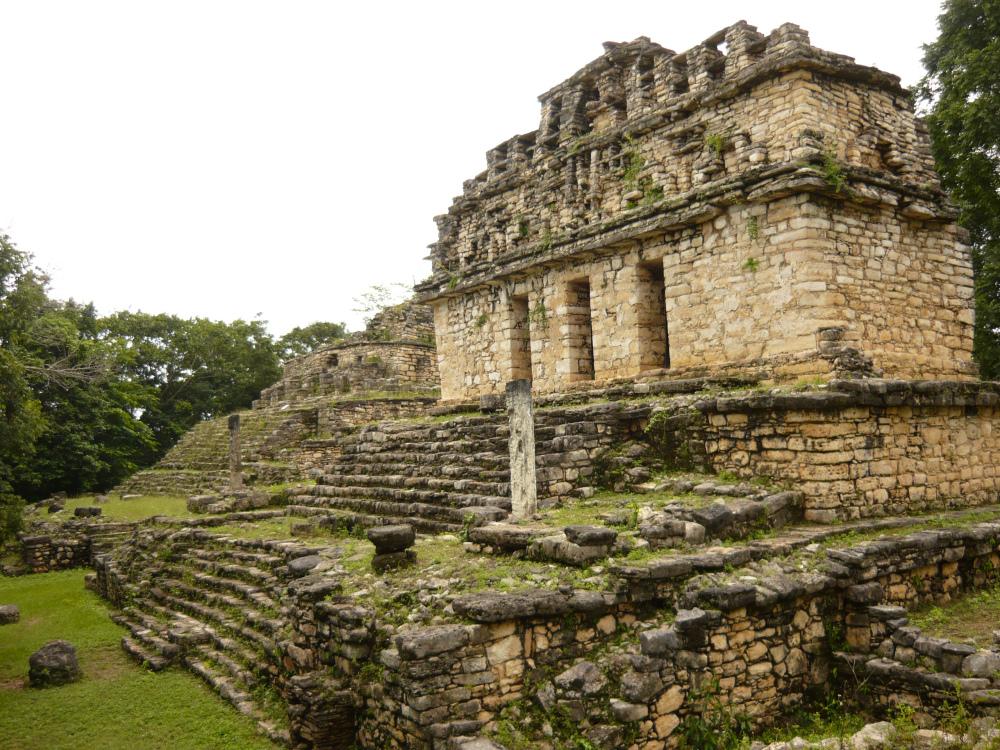 La ciudad maya de yaxchil n lugar del cielo dividido for Civilizacion maya arquitectura