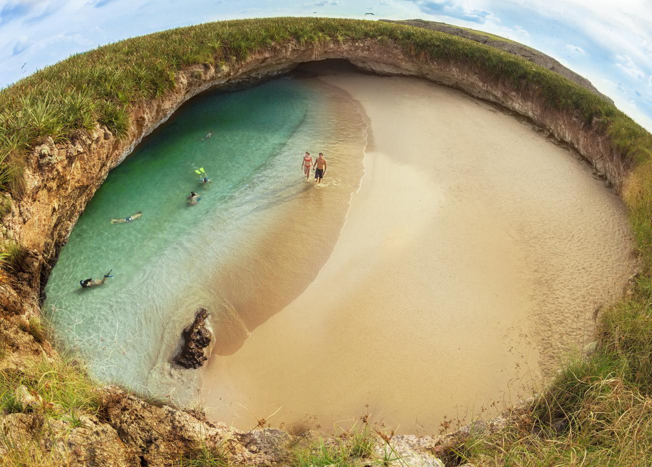 playa escondida mexico