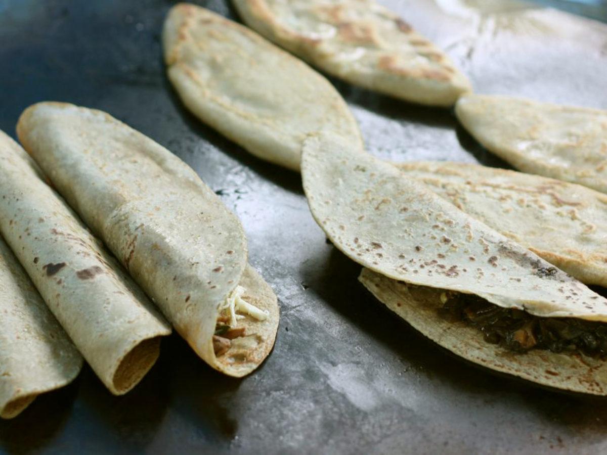 Emblema mexicano: las quesadillas (con o sin queso) -