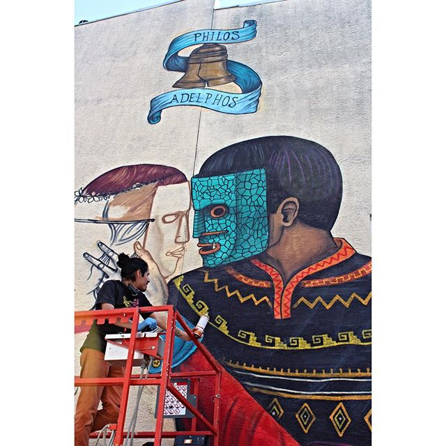 Philadelphia Magic Gardens sanner mural filadelfia