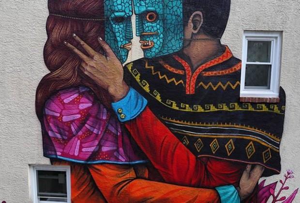 Steve Weinik saner mural filadelphia