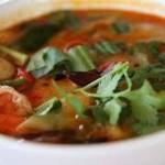 Sopa de cabeza de pescado campechano