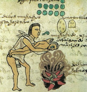 humo de chile educar aztecas guerra