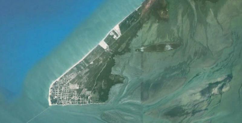 isla aguada google earth