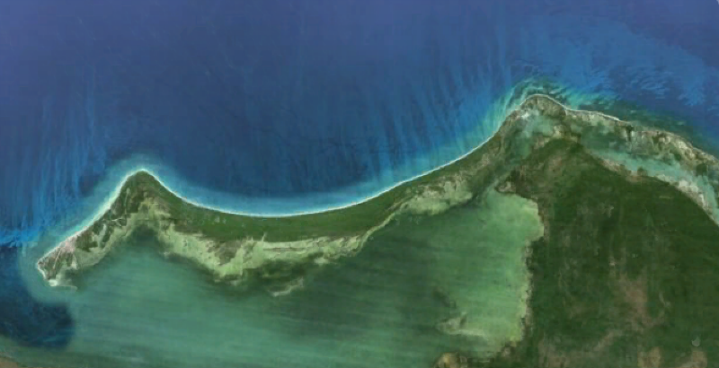 isla holbox google earth