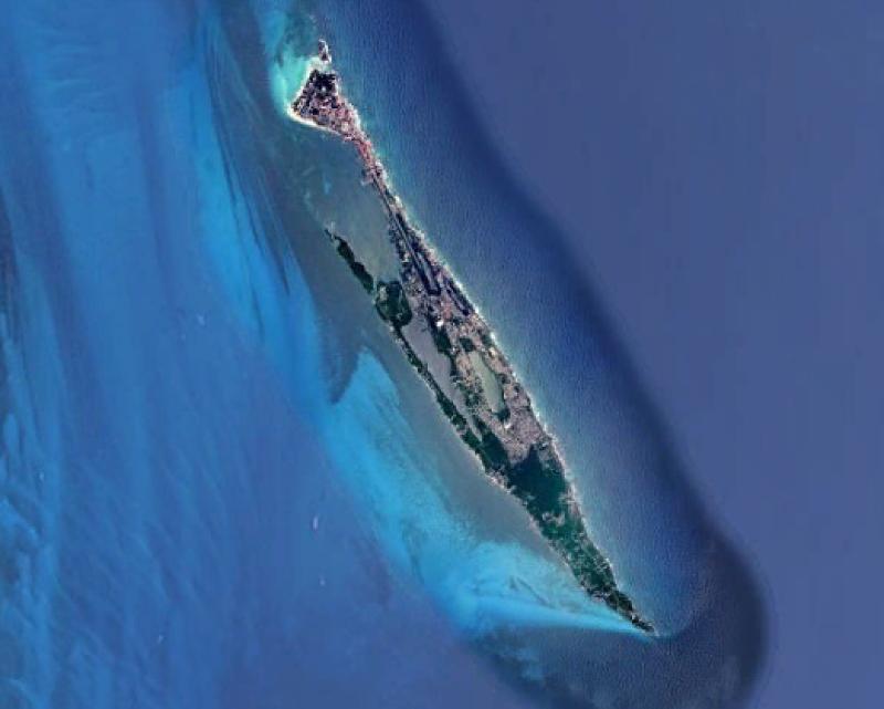 isla mujeres google earth