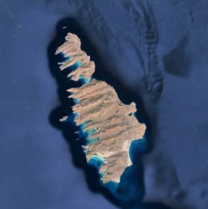 isla partida google earth