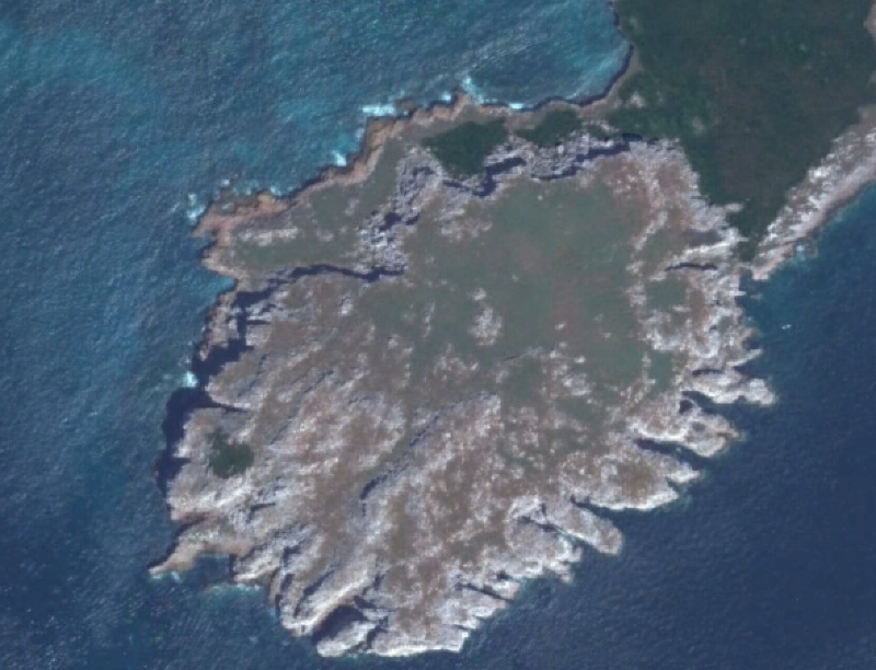 islas marieta google earth