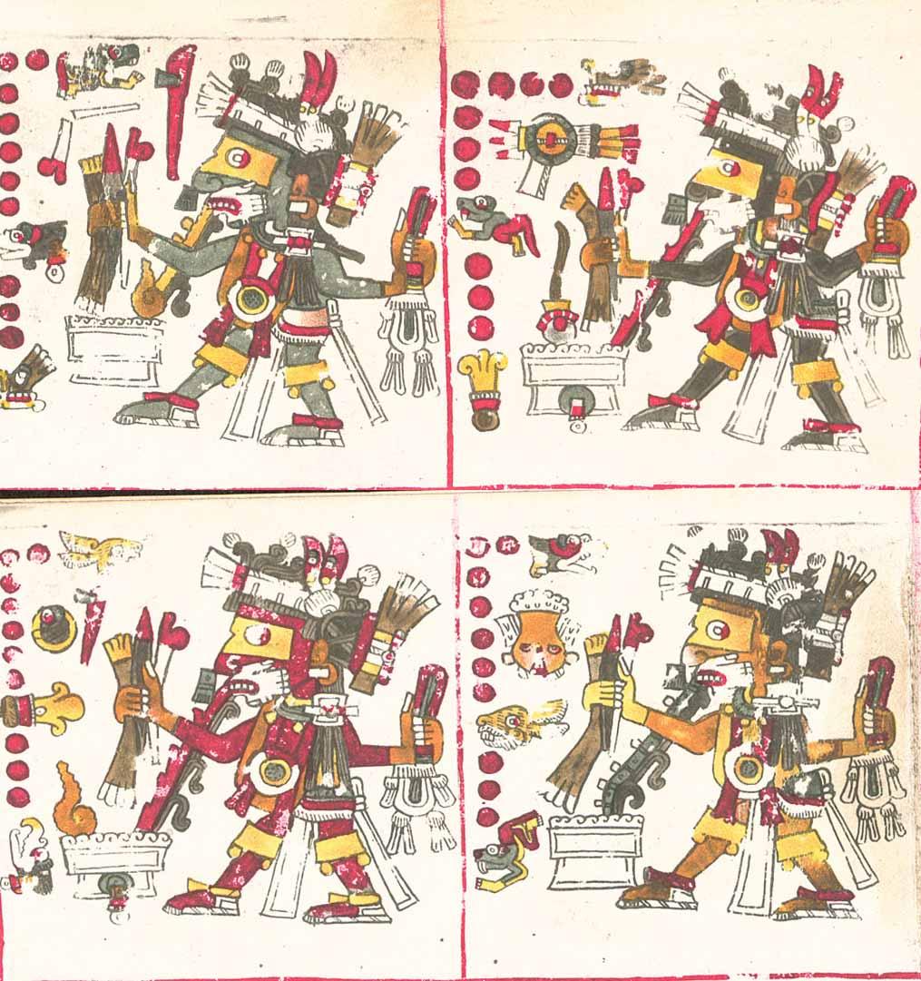 dioses aztecas vicios