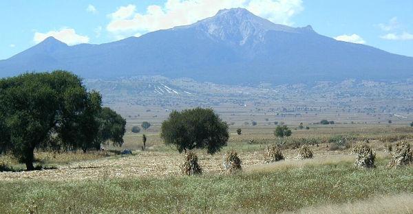 malinche volcán montañas más altas méxico