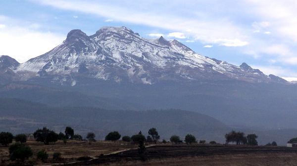 Iztaccíhuatl montañas más altas de méxico
