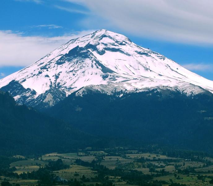 popocatépetl montañas más altas méxico