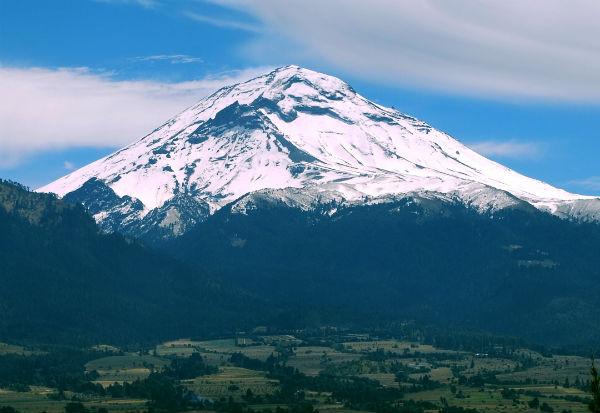popocatépetl montañas más altas de méxico