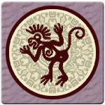 mono horóscopo maya