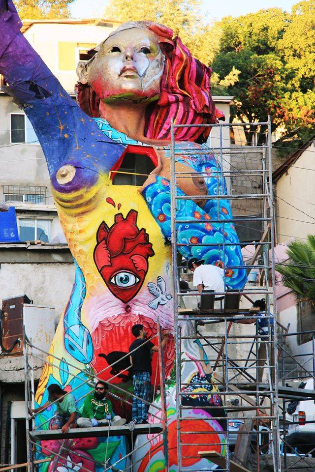la mona tijuana intervenida artistas