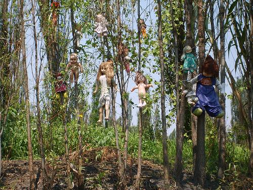 isla muñecas xochimilco embrujadas