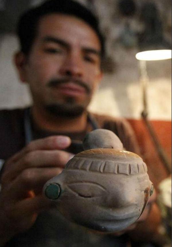 últimos fabricantes instrumentos prehispánicos