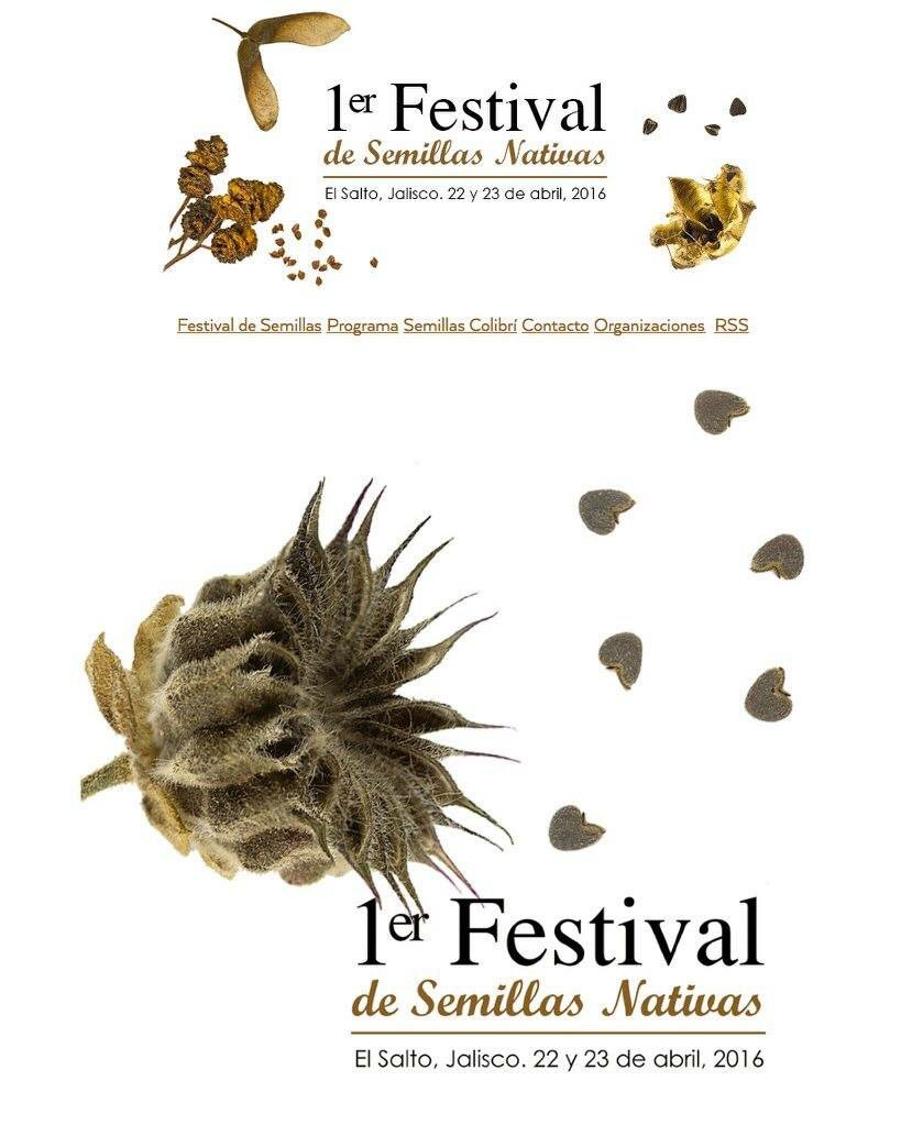 1er. festival de las semillas nativas méxico