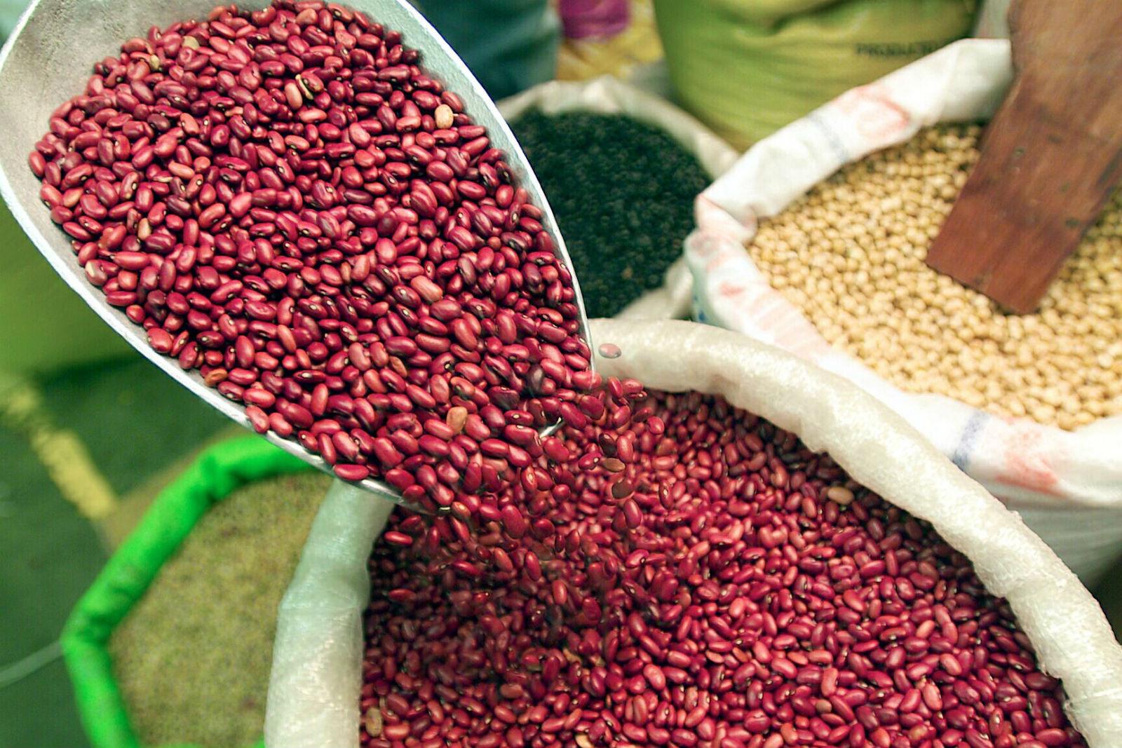 El maíz, el frijol y el amaranto pueden reducir