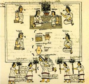 matrimonio mexica códice mendoza