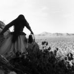Mujer ángel, Desierto de Sonora, México 1979