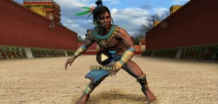 imagen de jugador de pelota maya o prehispanico