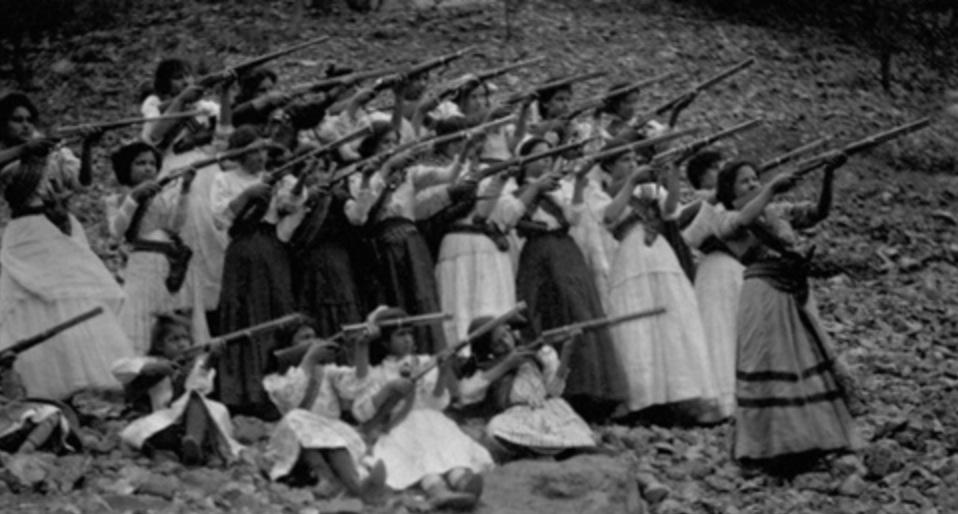 adelitas soldaderas soldadas revolución