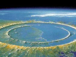 cráter Chicxulub méxico origen de la vida