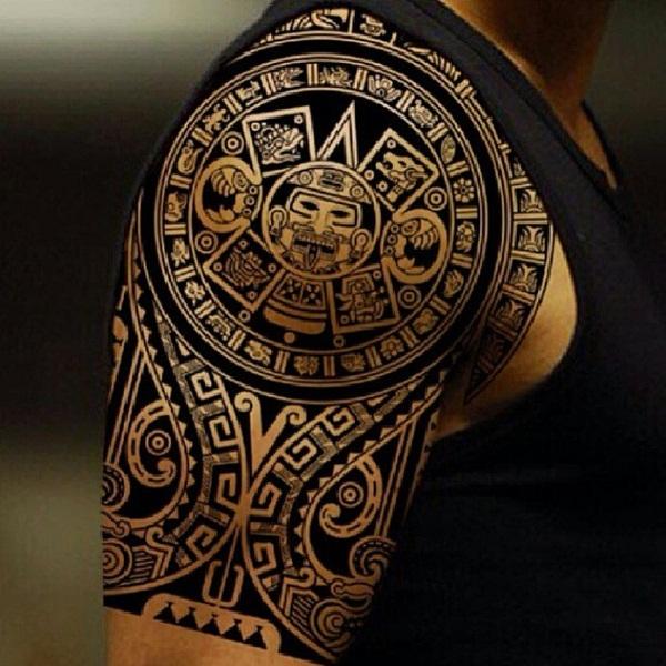 13 Notables Tatuajes Con Motivos Prehispanicos