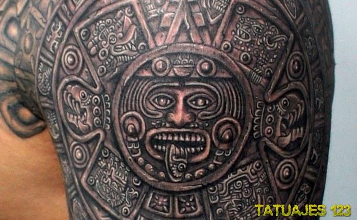 13 Notables Tatuajes Con Motivos Prehispánicos