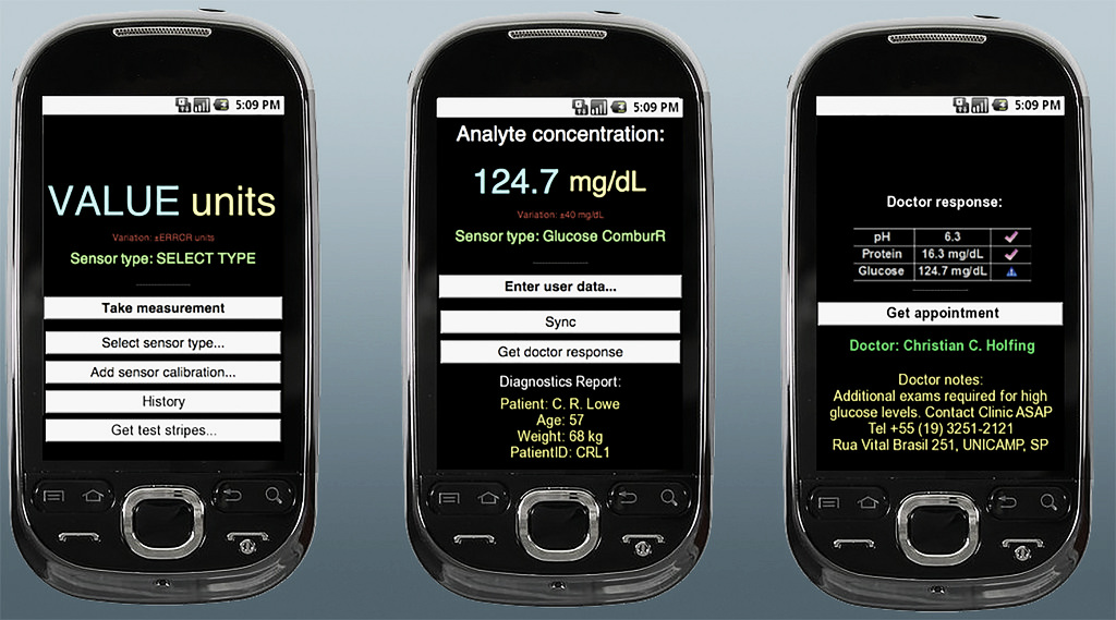 colorimetrix app laboratorio