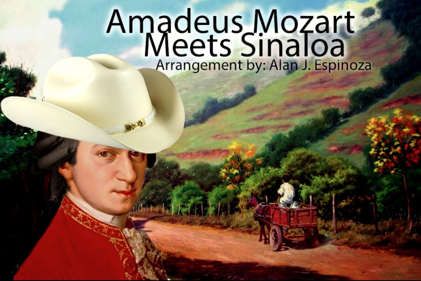Músico convierte sonatas de Mozart en improbables canciones de banda