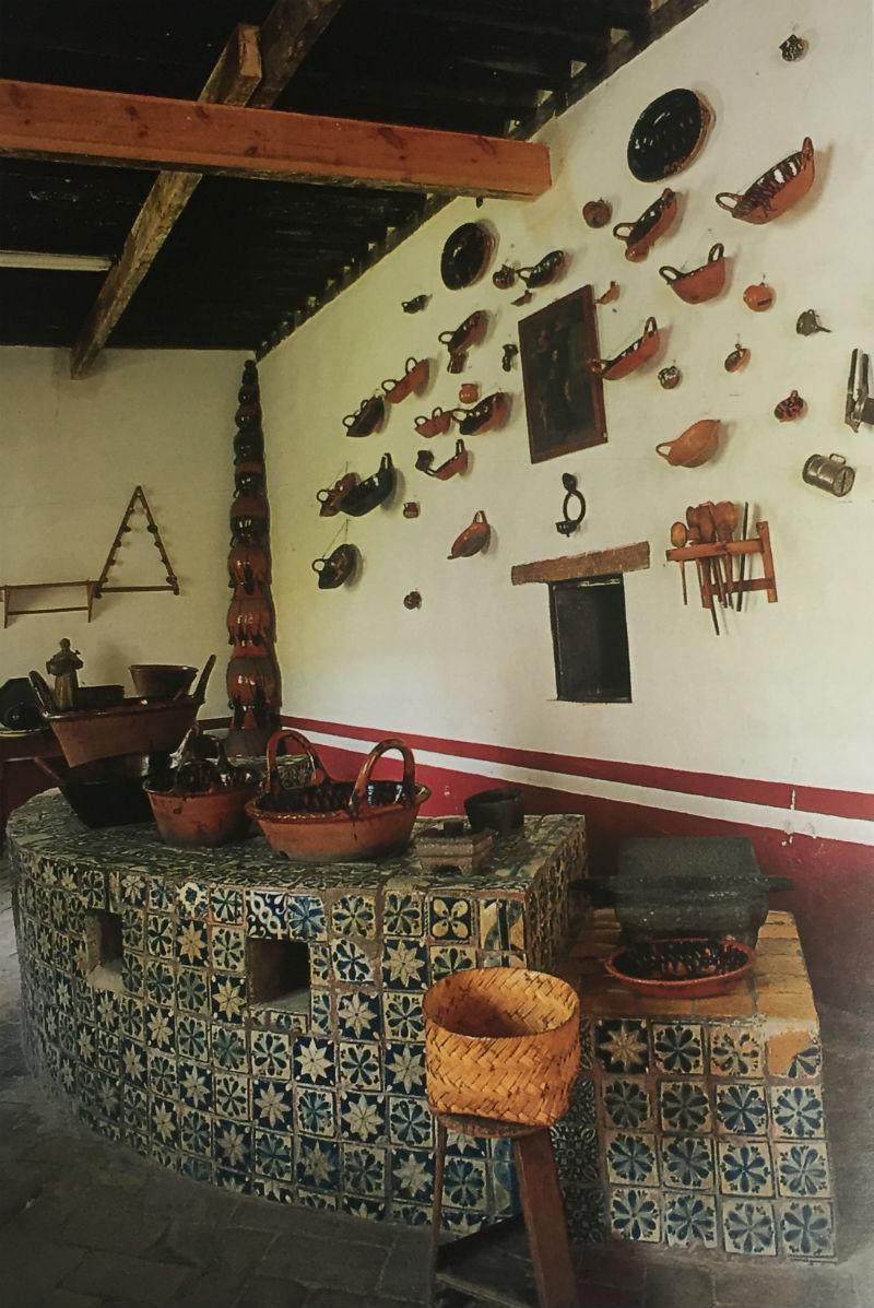 cocina del convento santa mónica puebla