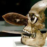 máscaras cráneo aztecas