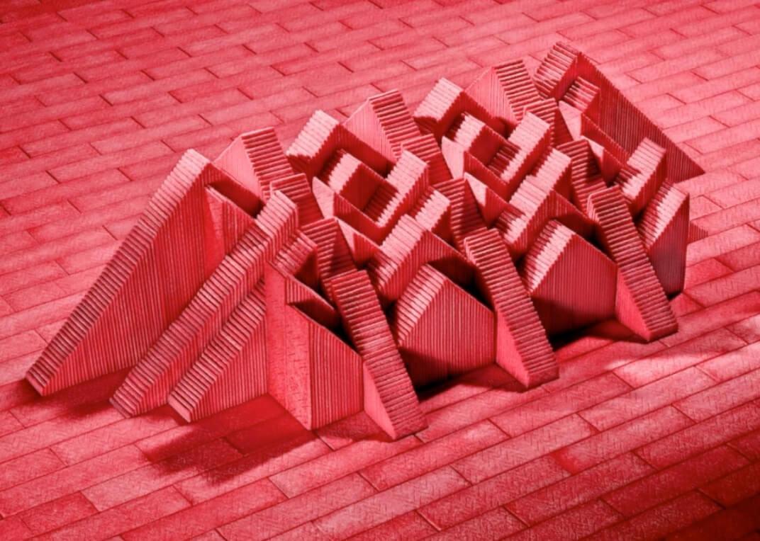 Sam Kaplan esculturas chicle arquitectura maya