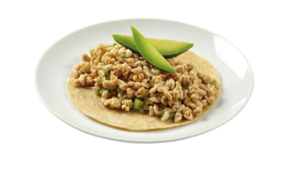 tacos escamoles o hueva de hormiga