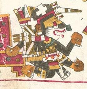 Nanahuatzin, Códice Borgia